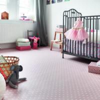 barnrum rosa golv