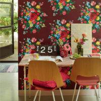 intrade pip studio blommig tapet